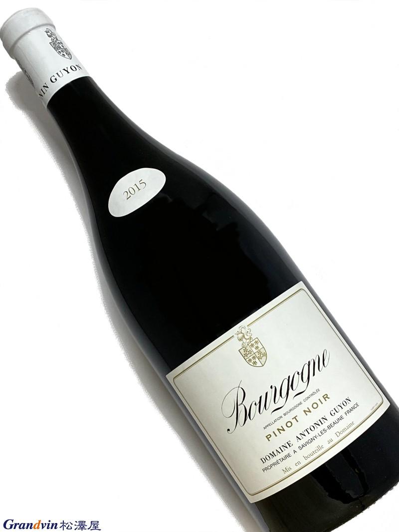 2015年 アントナン ギヨン ブルゴーニュ ピノノワール 1,500ml フランス 赤ワイン