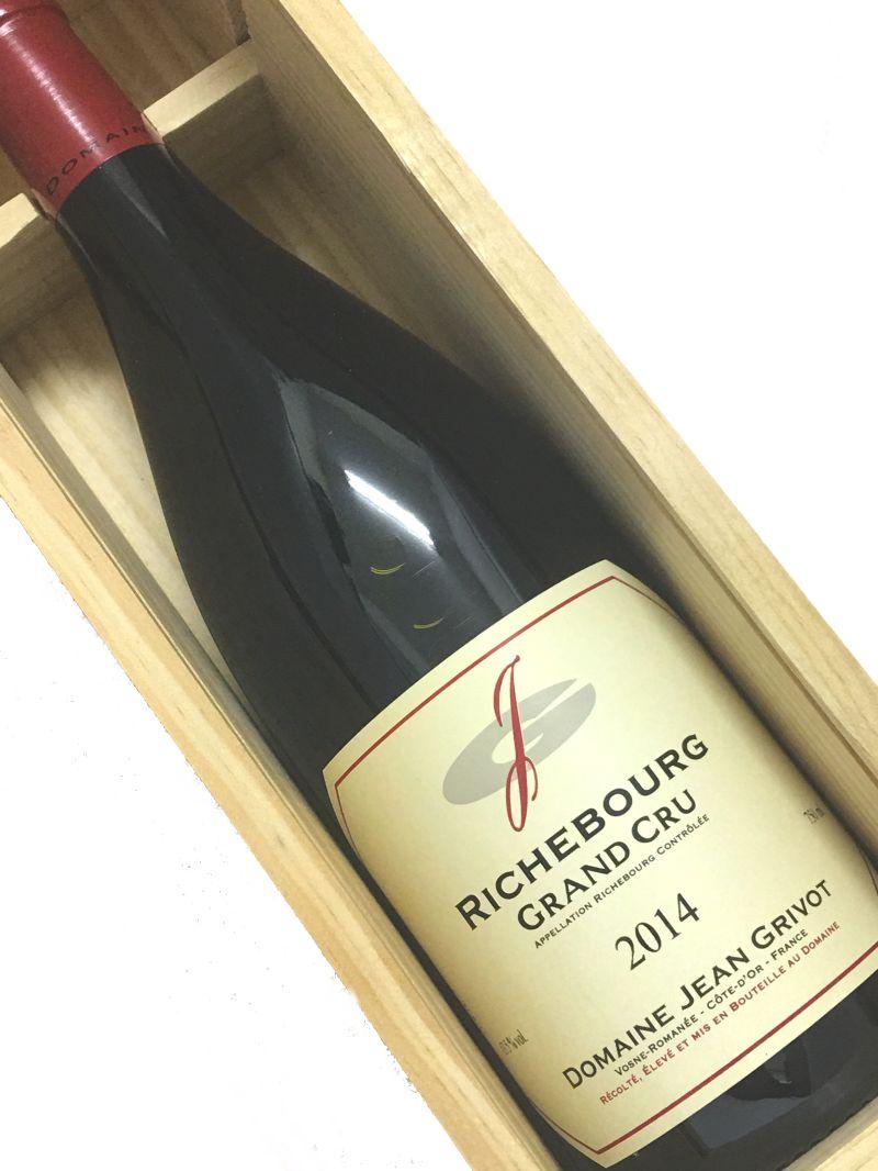 2014年 ジャン グリヴォ リシュブール 750ml フランス ブルゴーニュ 赤ワイン