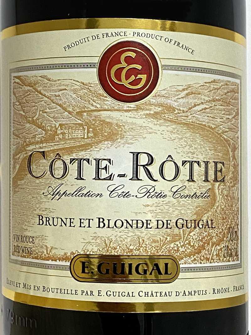 2005年 ギガル コートロティ ブリュヌ エ ブロンド 1,500ml フランス ローヌ 赤ワイン