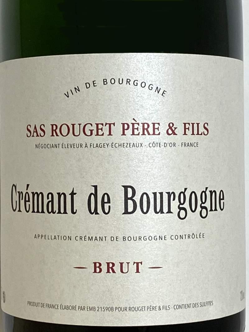 ルジェ ペール エ フィス クレマン ド ブルゴーニュ ブリュット 750ml フランス スパークリングワイン