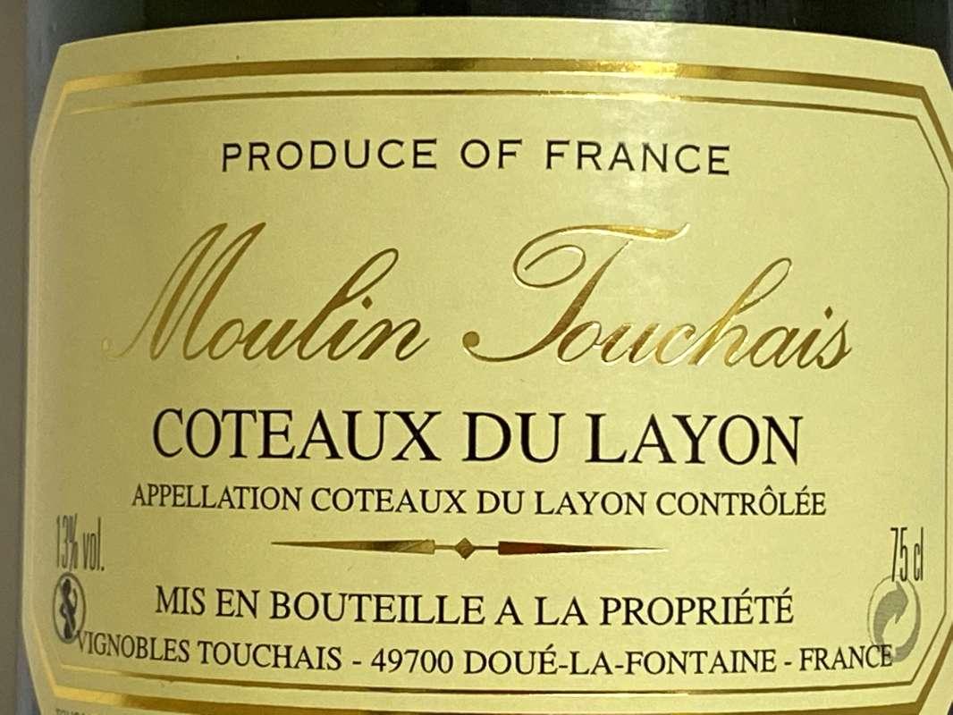 1980年 トゥーシェ コトー デュ レイヨン 750ml フランス ロワール 甘口白ワイン