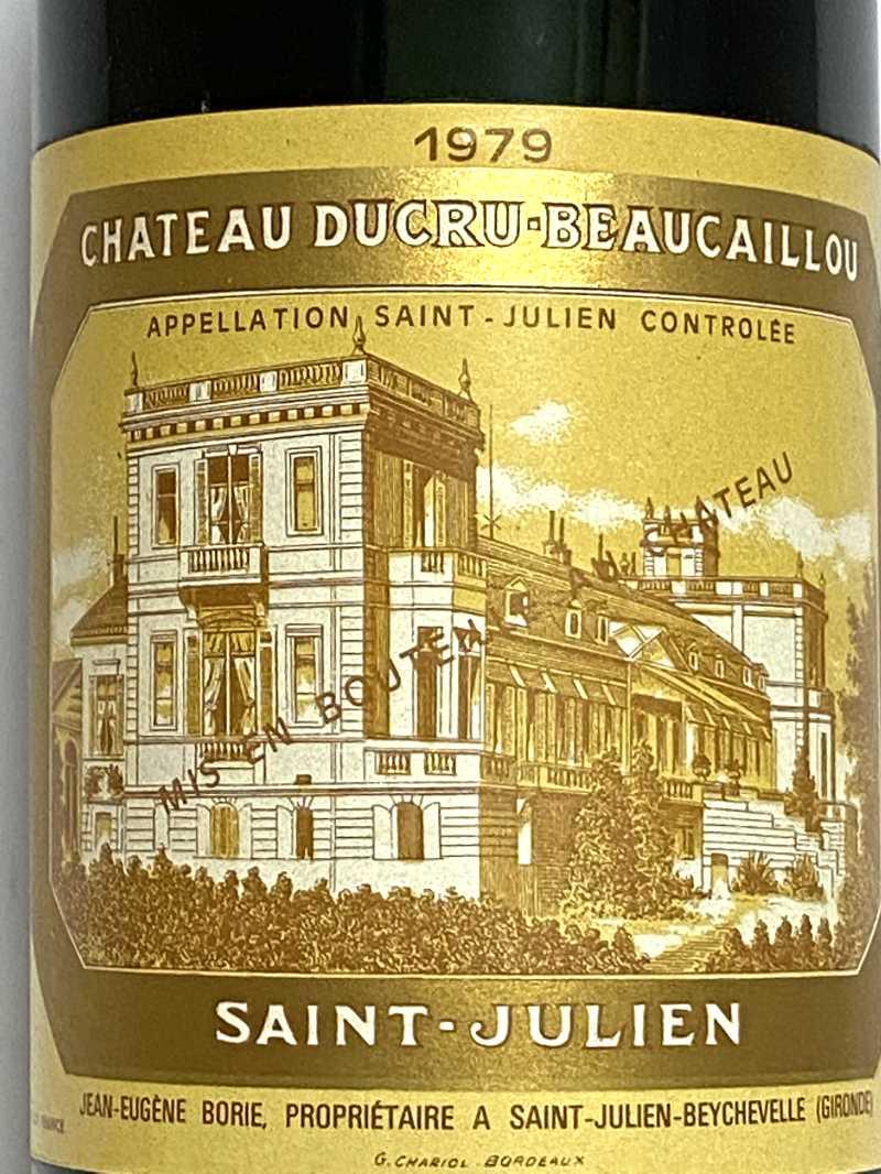 1979年 シャトー デュクリュ ボーカイユ 750ml フランス ボルドー 赤ワイン