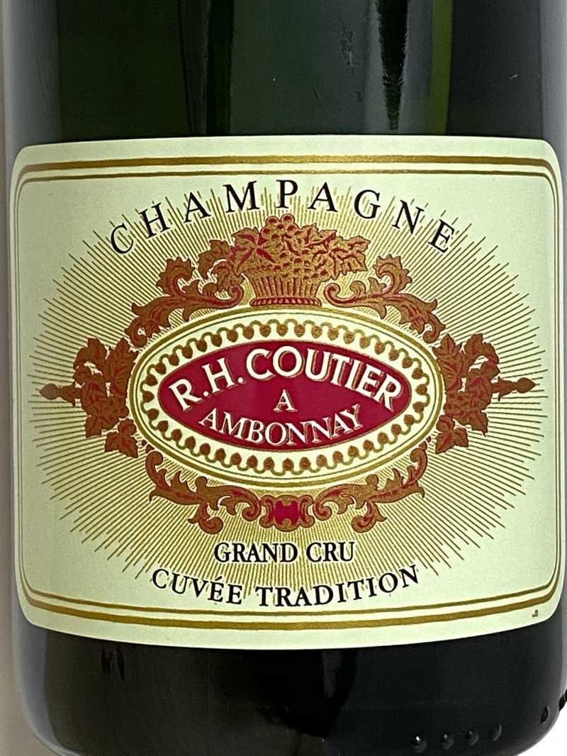 ギフトN.V. クーティエ シャンパーニュ ブリュット トラディション グランクリュ 750ml フランス シャンパン