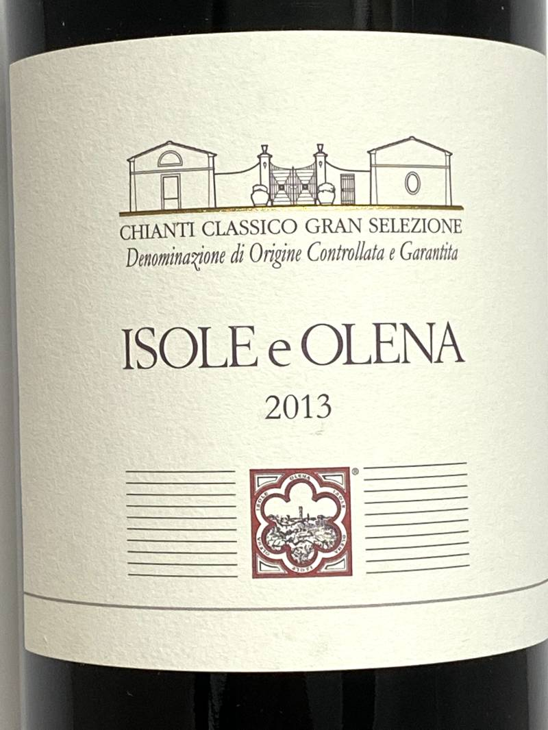 2013年 イゾレ エ オレーナ キャンティ クラシコ グラン セレツィオーネ 750ml イタリア 赤ワイン