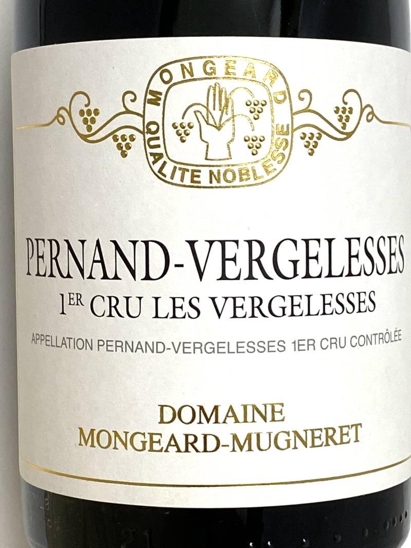 2018年 モンジャール ミュニュレ ペルナン ヴェルジュレス レ ヴェルジュレス 750ml フランス 赤ワイン