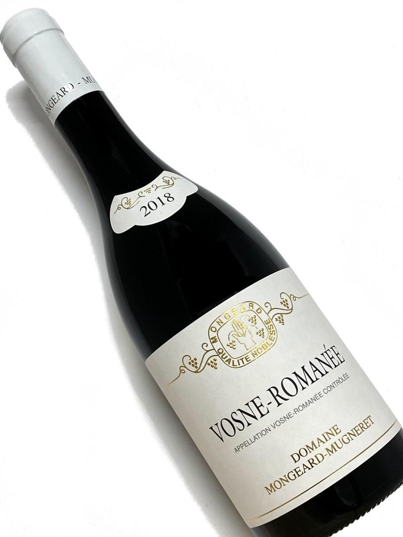 2018年 モンジャール ミュニュレ ヴォーヌ ロマネ 750ml フランス ブルゴーニュ 赤ワイン