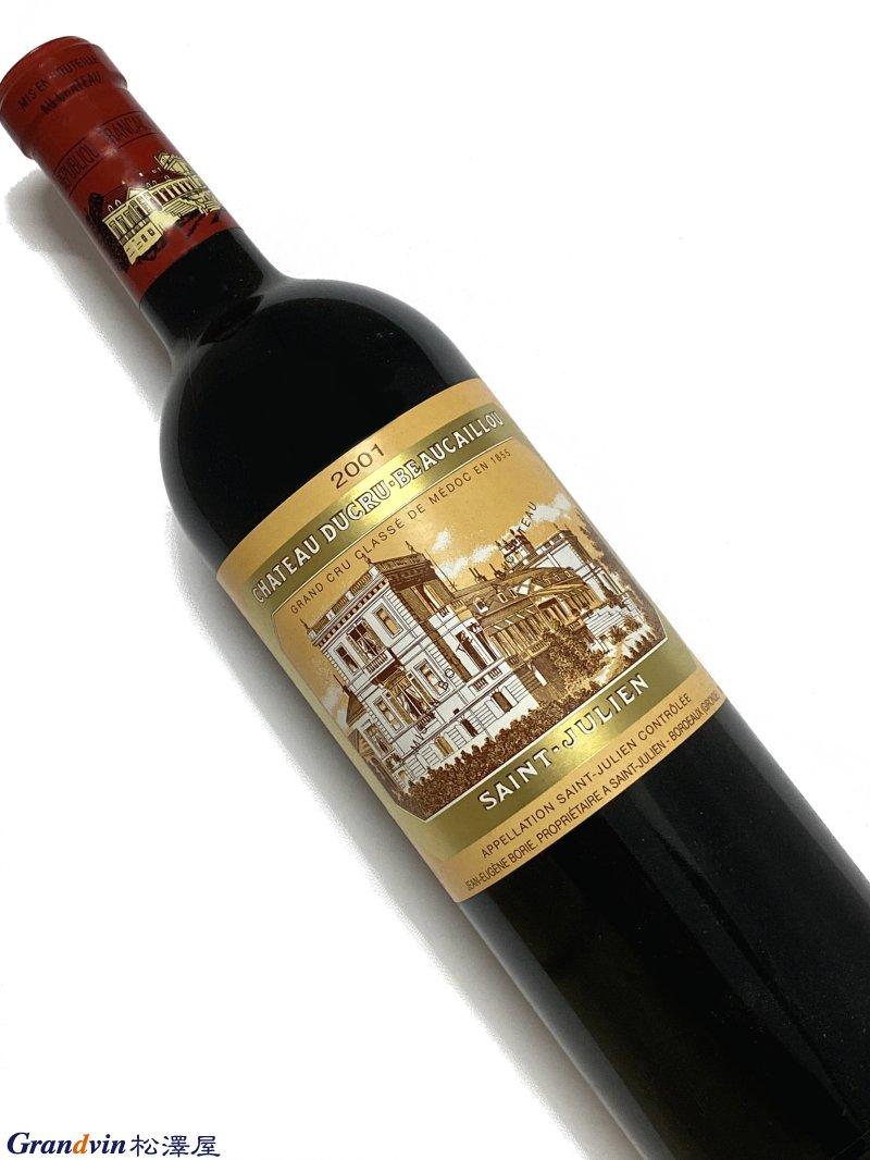 2001年 シャトー デュクリュ ボーカイユ 750ml フランス ボルドー 赤ワイン