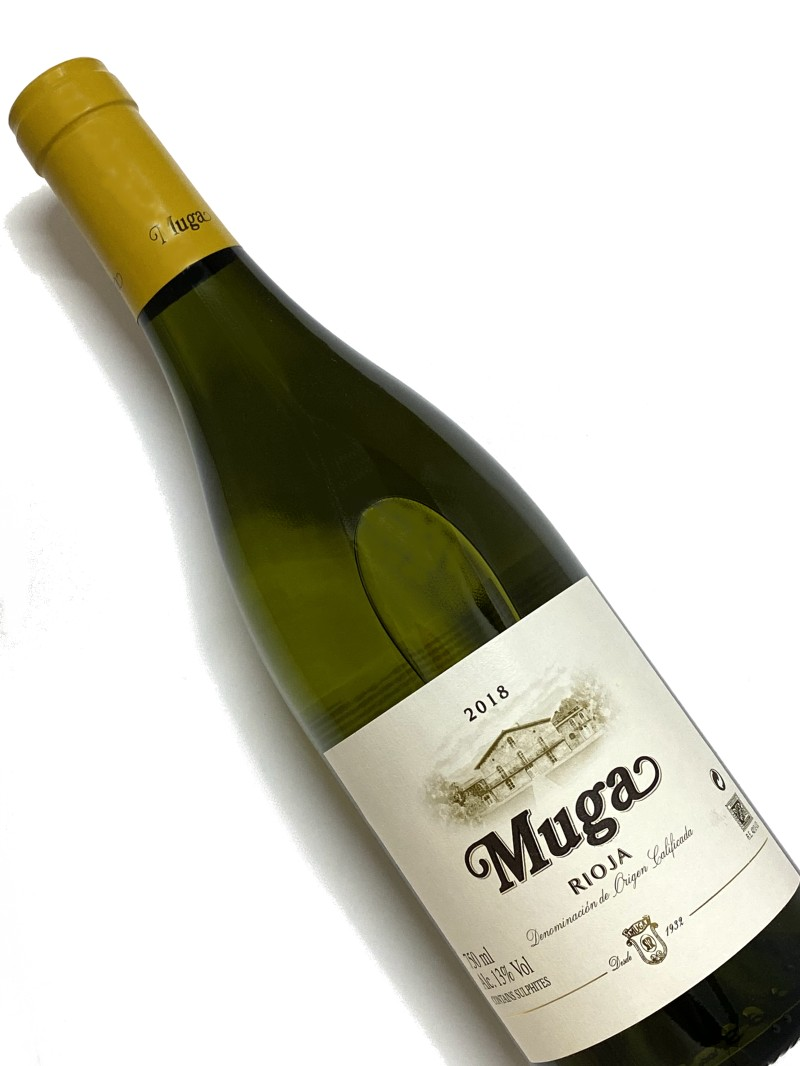 2018年 ボデガス ムガ リオハ ブランコ 750ml スペイン 白ワイン