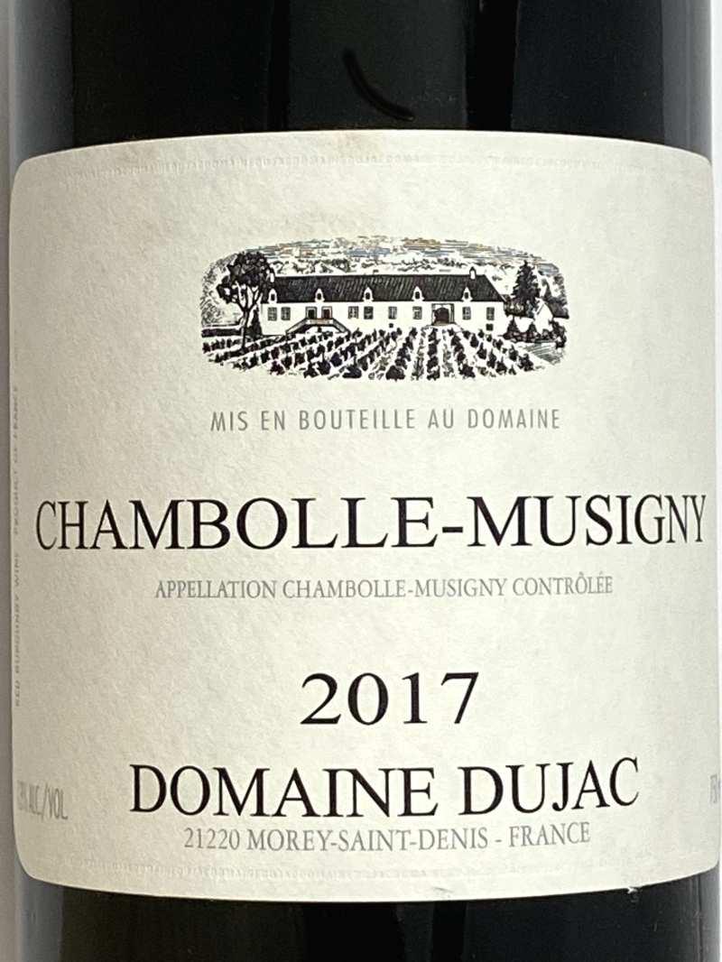 2017年 デュジャック シャンボール ミュジニー 750ml フランス ブルゴーニュ 赤ワイン