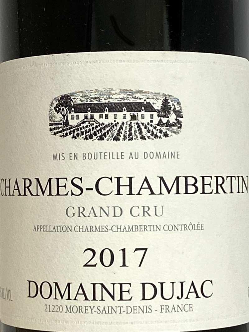 2017年 デュジャック シャルム シャンベルタン 750ml フランス ブルゴーニュ 赤ワイン