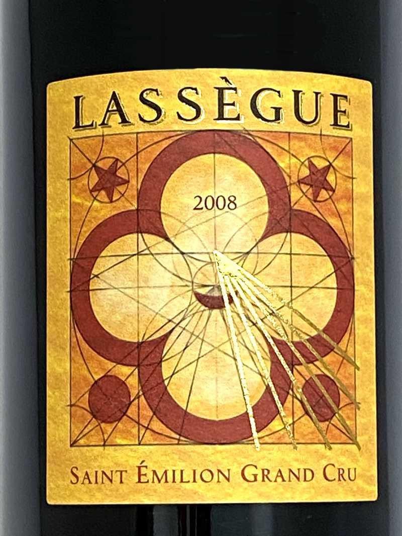 2008年 シャトー ラセグ 750ml フランス ボルドー 赤ワイン