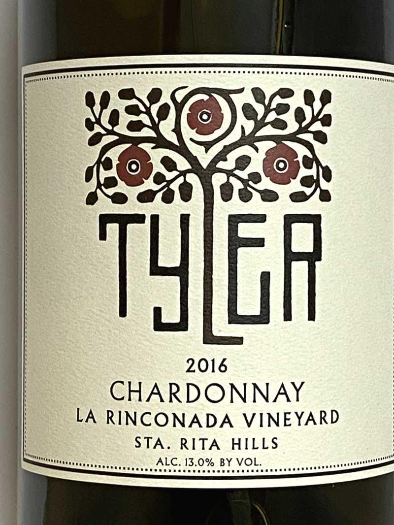 2016年 タイラー シャルドネ ラ リンコナダ ヴィンヤード 750ml アメリカ 白ワイン