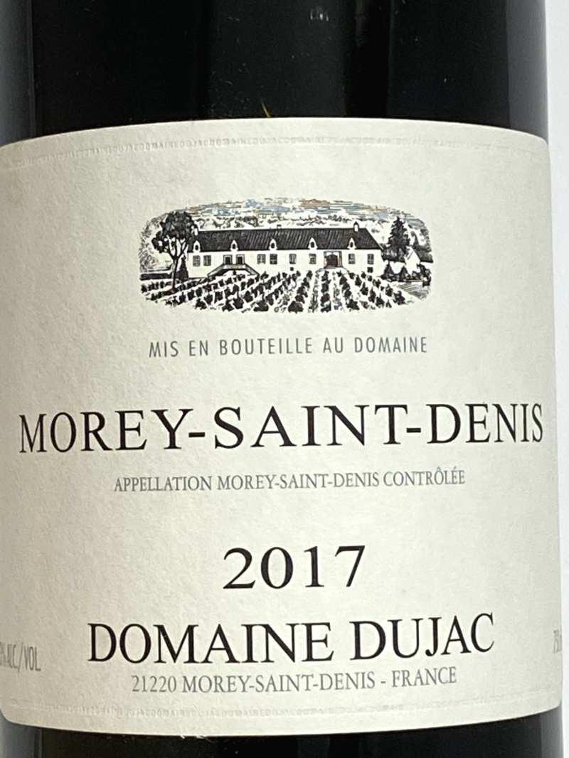 2017年 デュジャック モレサンドニ ルージュ 750ml フランス ブルゴーニュ 赤ワイン