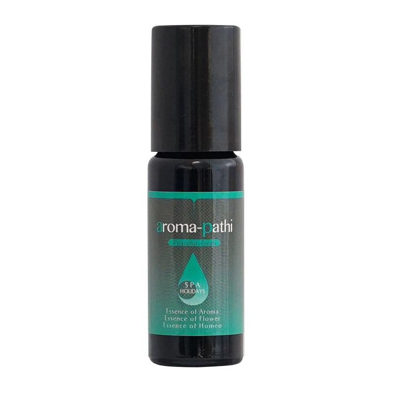 【aroma-pathi ロールオンアロマ】Peaceful-Fresh(ピースフルフレッシュ)/ Five elements:木(wood)10ml