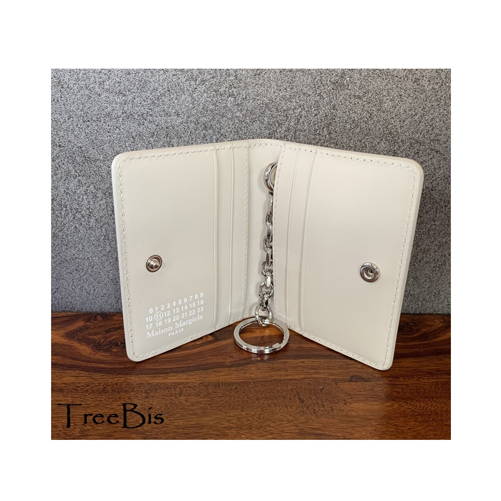 MaisonMargiela(メゾンマルジェラ) S56UI0128P4303 カードケース キーリング 財布