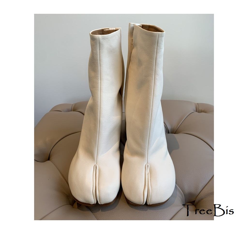 MaisonMargiela(メゾンマルジェラ) S58WU0260 Tabi ヴィンテージ レザー ブーツ