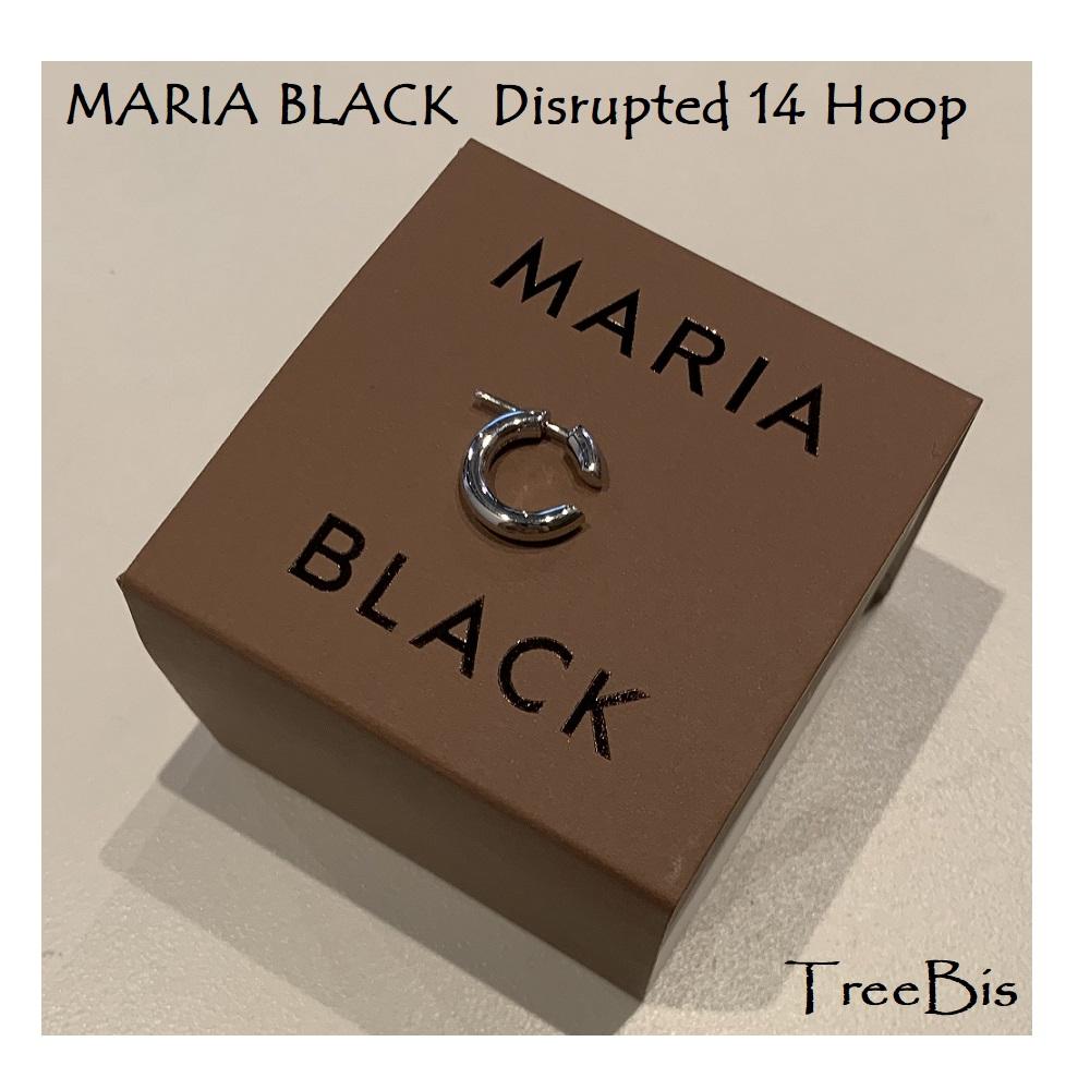 Maria Black(マリアブラック) 100455 Disrupted 14 Hoop Silver ピアス