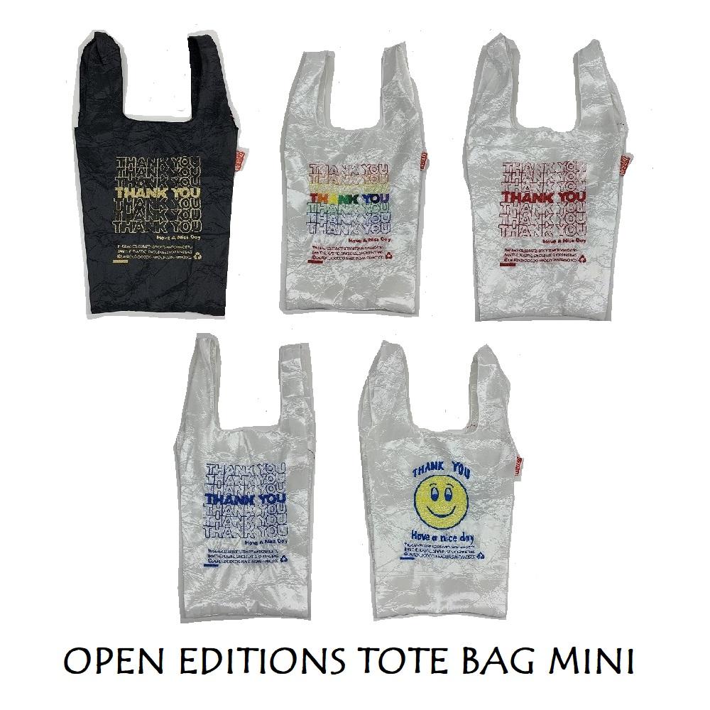 オープンエディション(OPEN-EDITIONS) エコバッグ TOTE BAG MINI ミニ