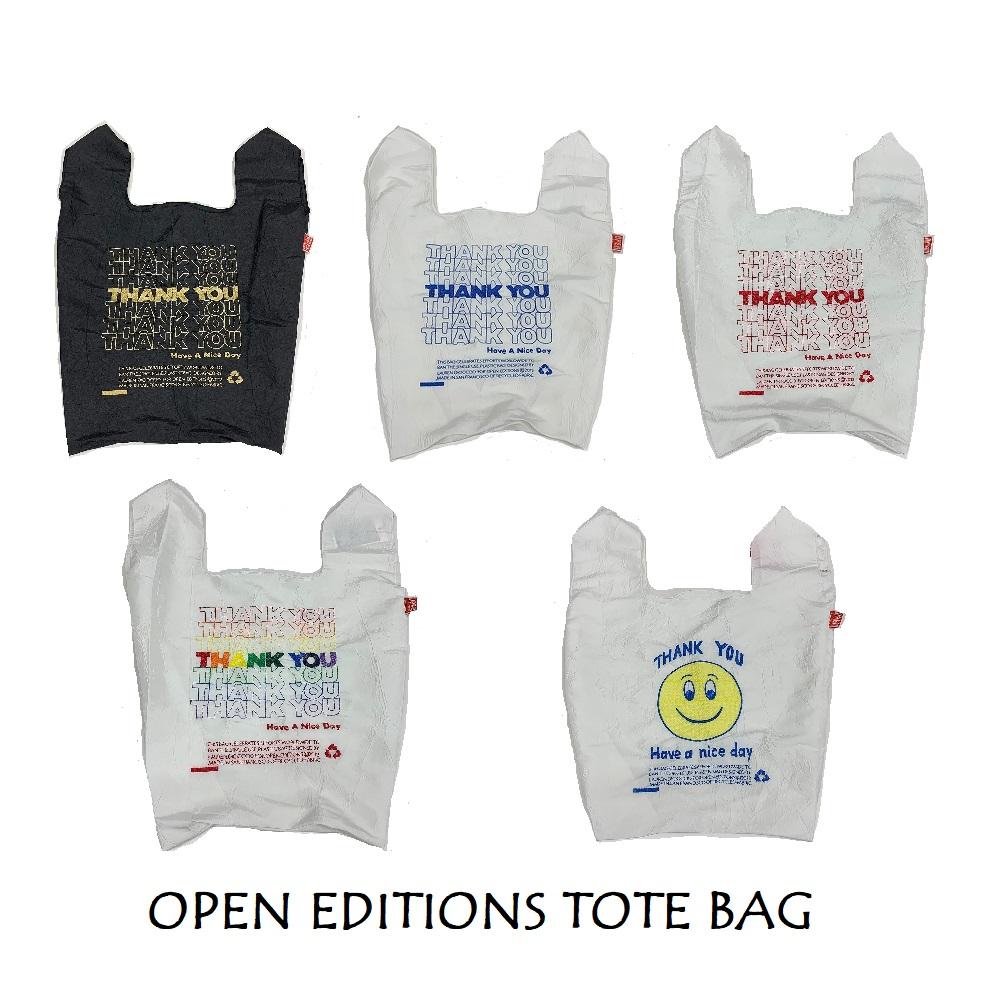 オープンエディション(OPEN-EDITIONS) エコバッグ TOTE BAG