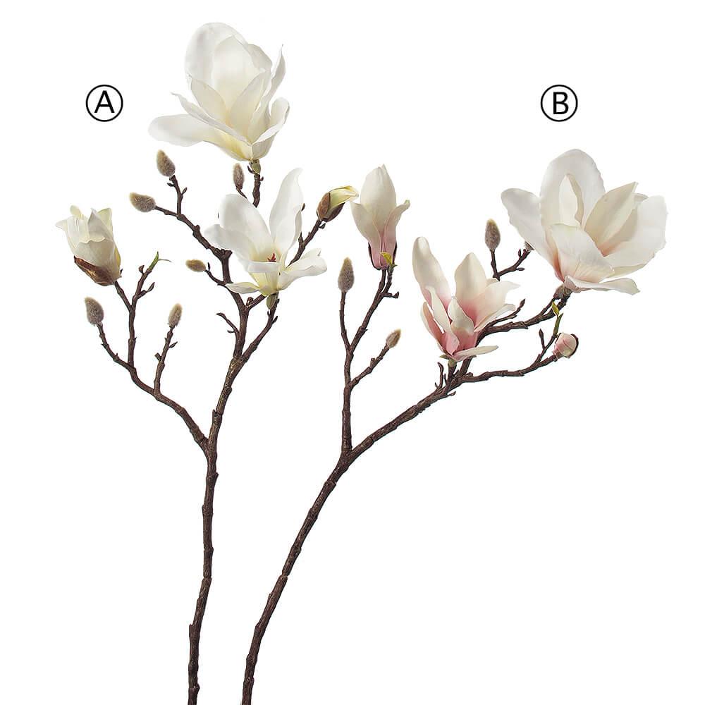 マグノリア×3 つぼみ×7 A-32330【造花】