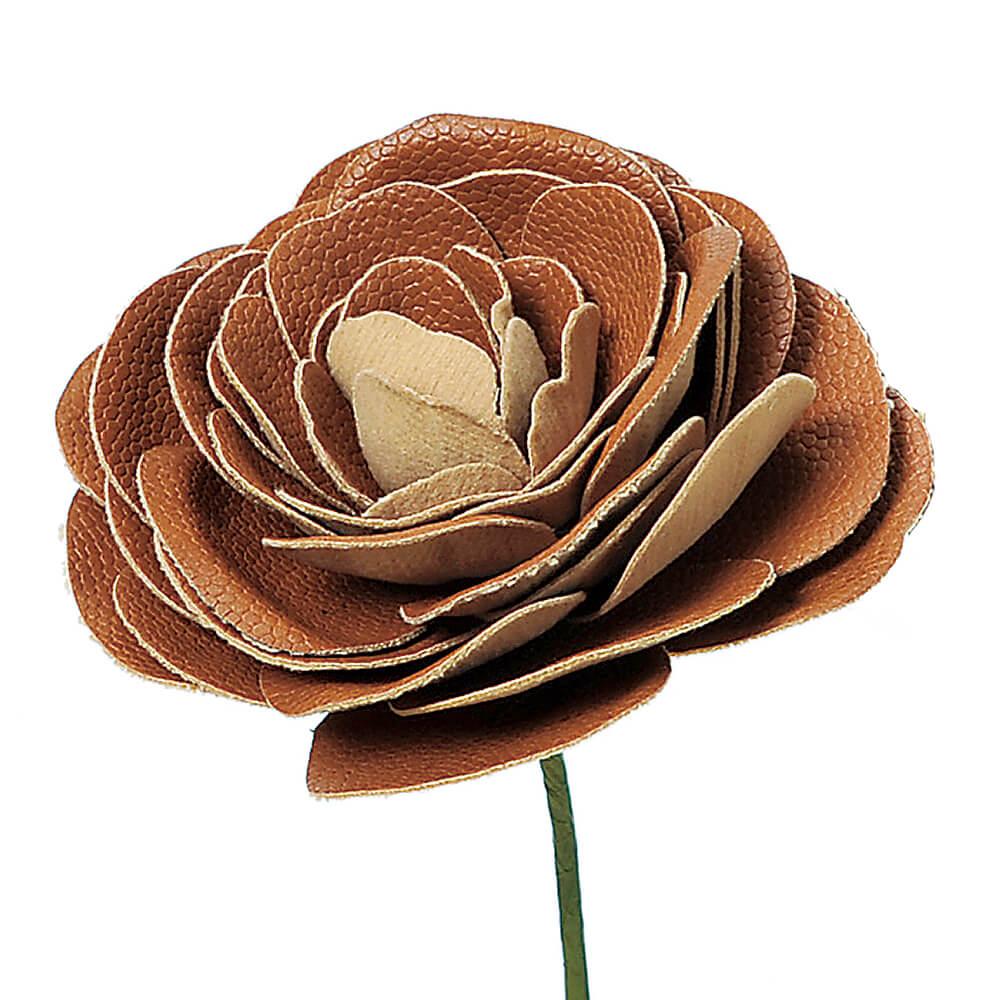 ラナンキュラスピック ブラウン A-39661【造花】