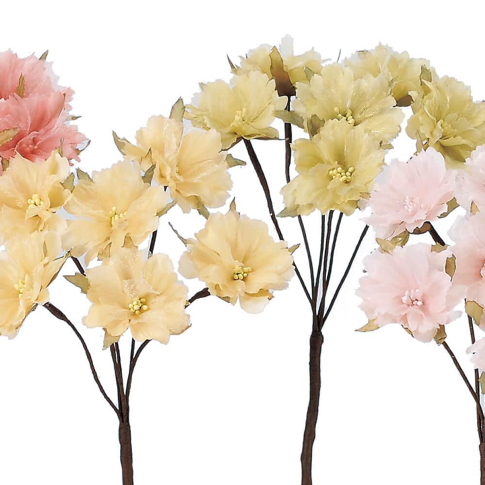 ブロッサムピック×6 A-33638【造花】