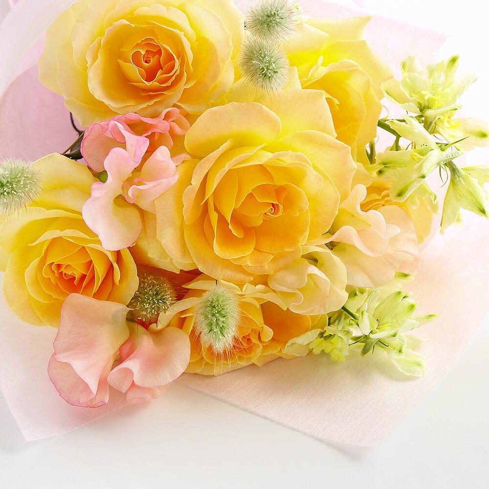 旬のお花の定期便 30日コース【ベーシック】
