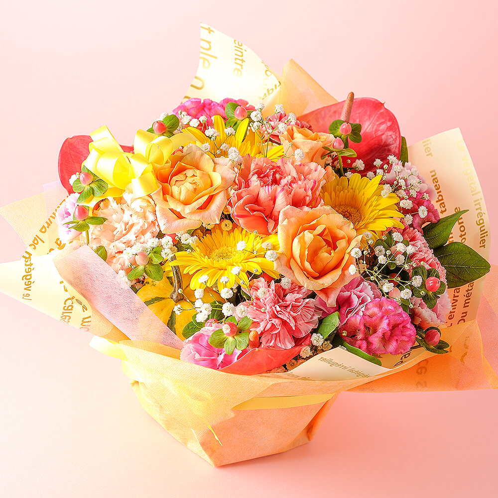 旬のお花の定期便 7日コース【スタンダード】