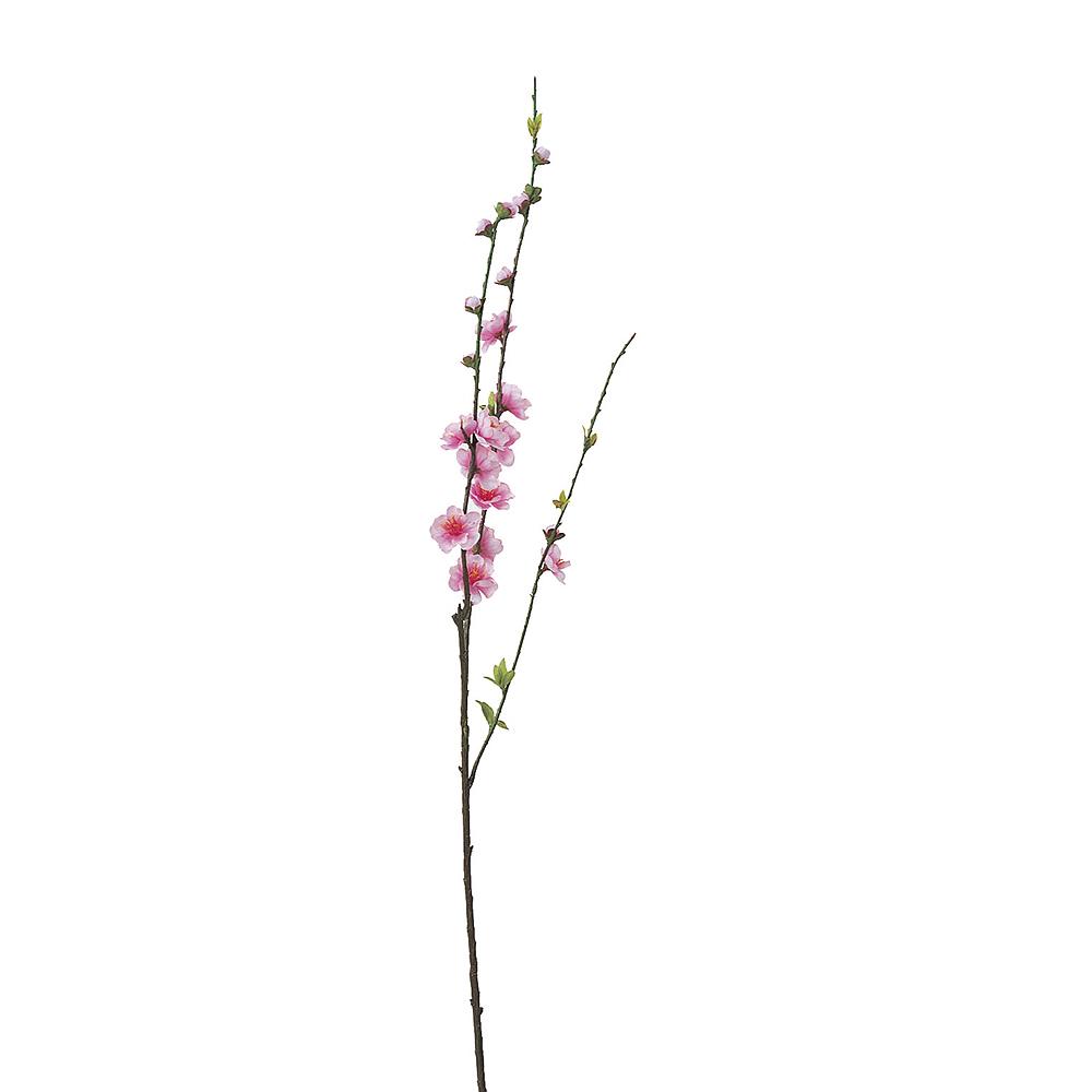 桃の花 桃スプレー ピンク A-03850-1【造花】