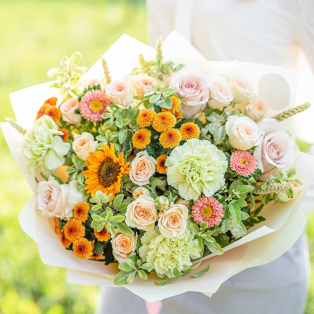 旬のお花の定期便 14日コース【プレミアム】