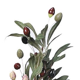 オリーブブランチ ナチュラル A-05609-2【造花】