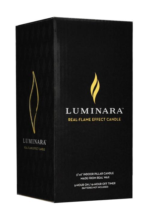 <新モデル>LEDキャンドル LUMINARA フラットトップキャンドル