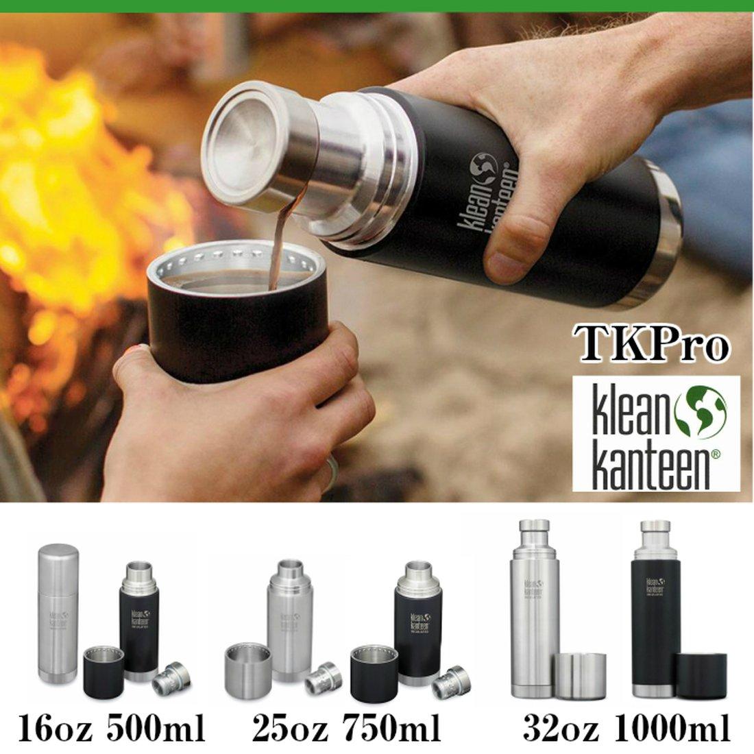クリーンカンティーン TKPro 1L 保冷保温ボトル水筒 1リットル 保温 コップ付き マグボトル TKプロ  国内正規品