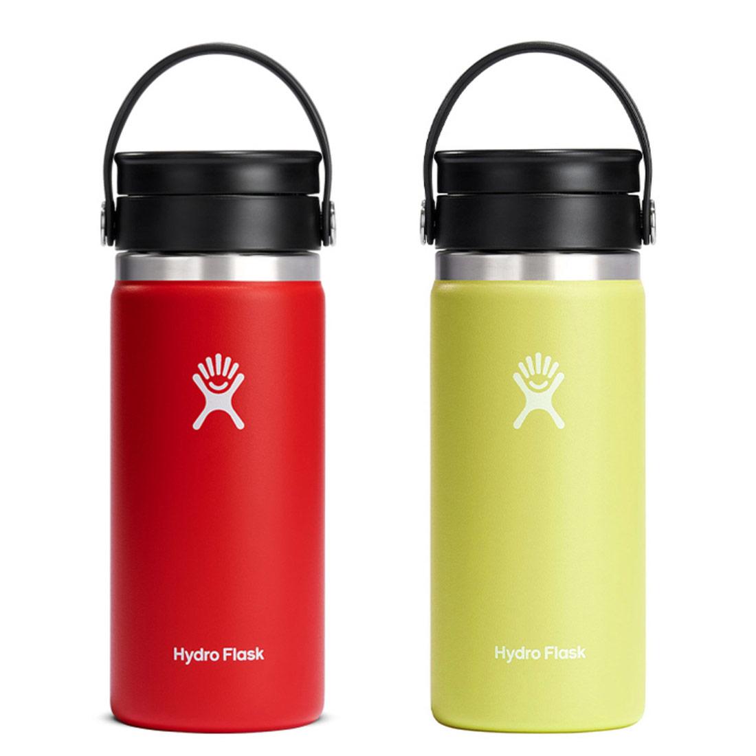 ハイドロフラスク ワイドマウスコーヒー フレックスシップ 16oz 保温 保冷 ボトル 水筒  国内正規品