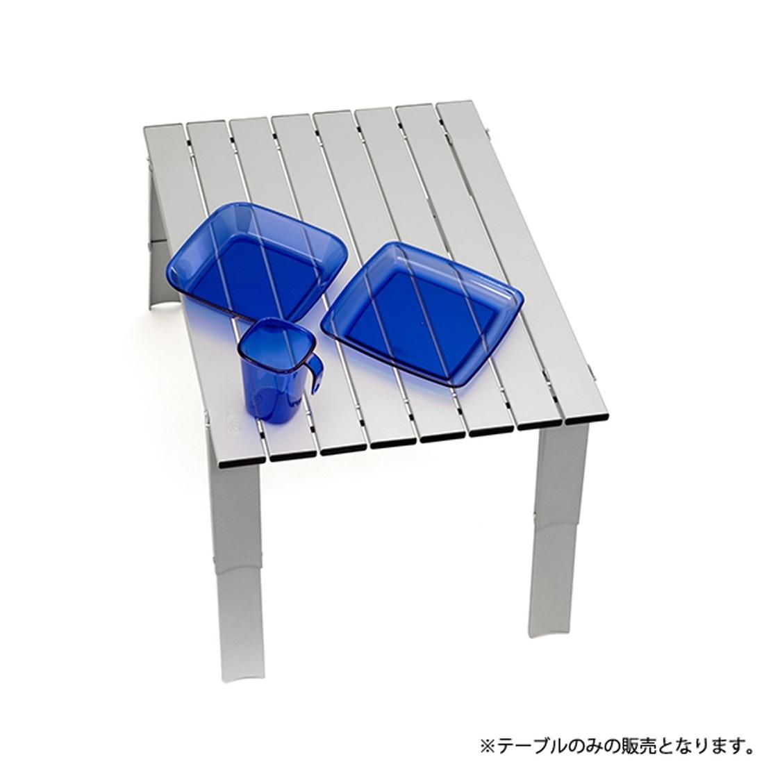ジーアイエス マイクロテーブル ラージ アルミ  国内正規品