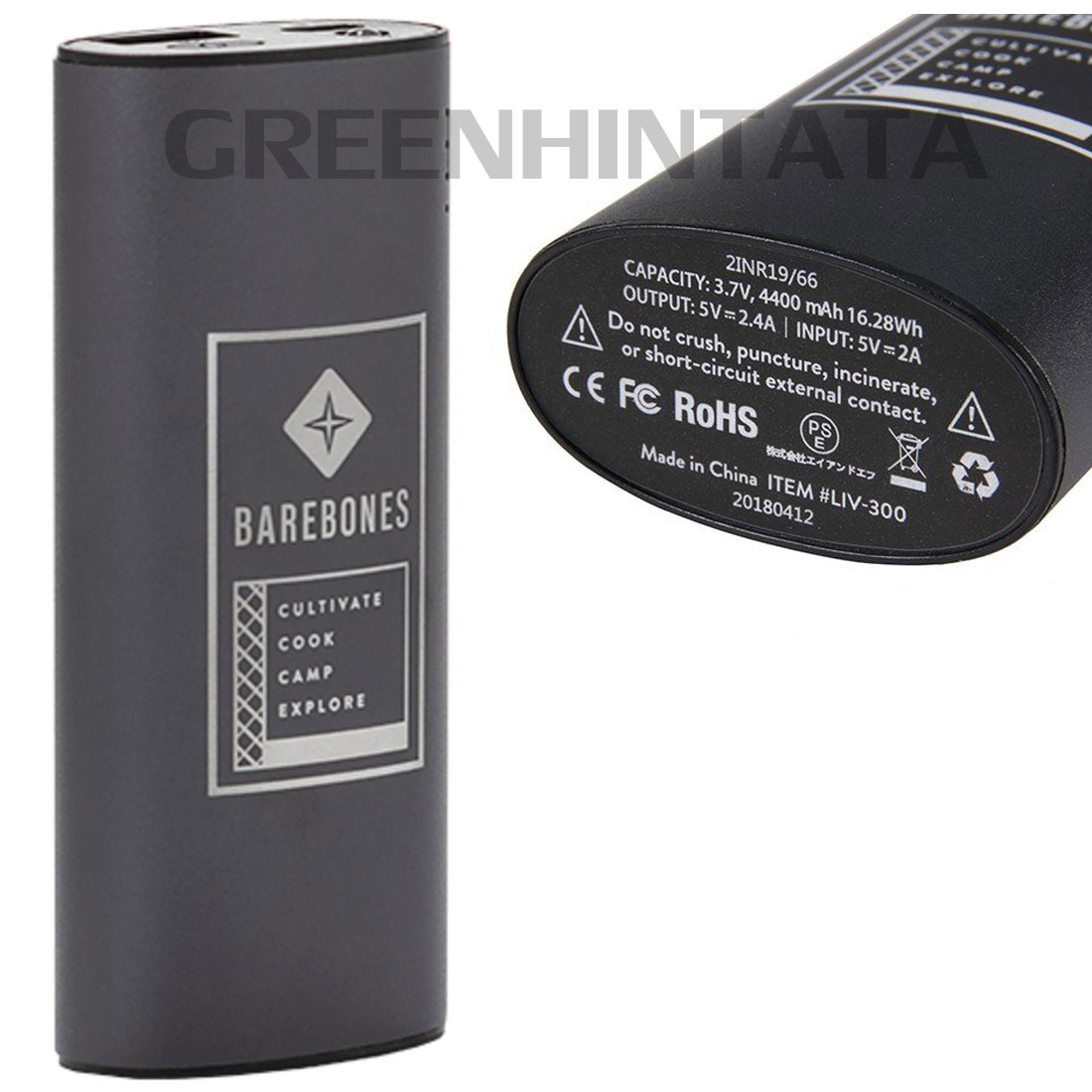 ベアボーンズ リビング ポータブルチャージャー バッテリー  国内正規品