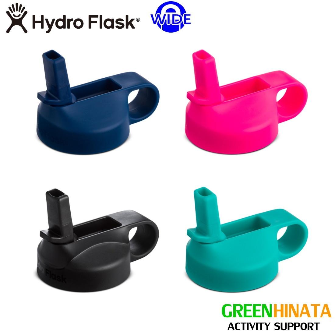 ハイドロフラスク ワイドマウスストローリッド 保温 保冷 ボトル 水筒  国内正規品