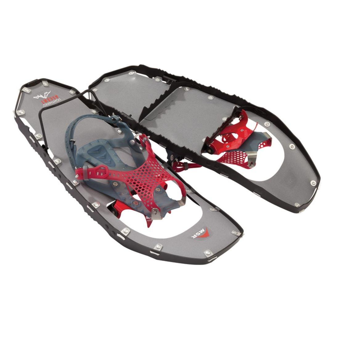 エムエスアール スノーシュー ライトニングアッセント メンズ パラゴン かんじき パラゴンバインディング男性用 軽量 スノーシュー  国内正規品 40001