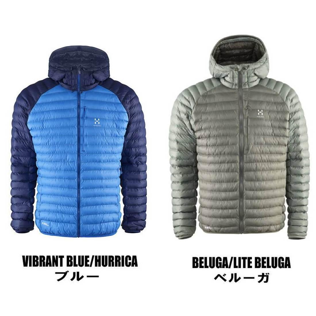 ホグロフス エッセンスミミック フードジャケット メンズ ソフトシェル  国内正規品