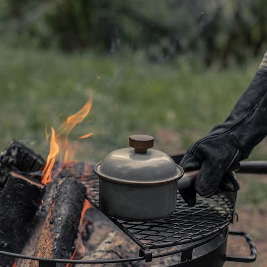 ベアボーンズ リビング エナメル ソースパン クックウェア  国内正規品