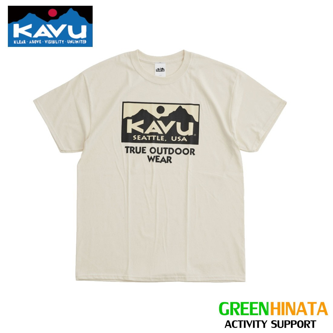 カブー トゥルーロゴ 2C T ティーシャツ ロゴT  自社在庫品