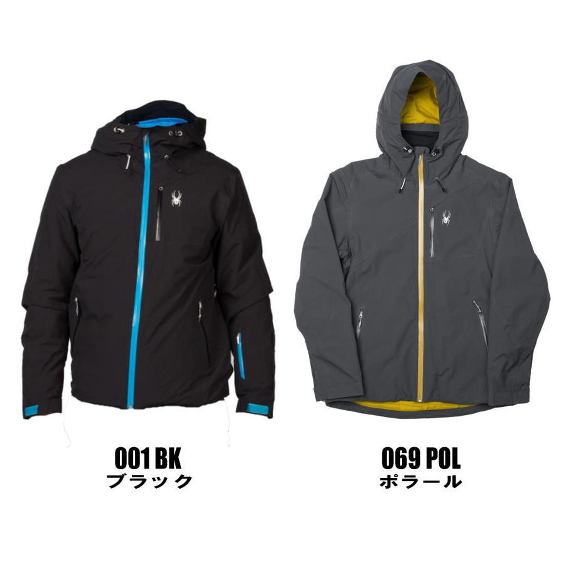 【国内正規品】 スパイダー M プライムジャケット  スキーウエア SPYDER M PRYME JACKET 15