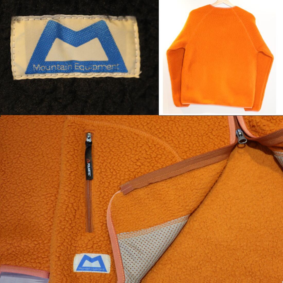 マウンテンイクイップメント パイルフリースカーディガン フリースジャケットPOLARTEC  国内正規品