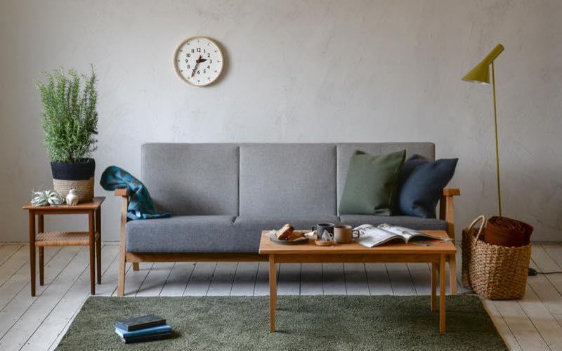 Basic Sofa 3P コーディネート