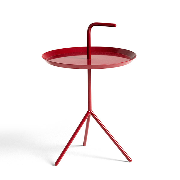 DLM SIDE TABLE CHERRY RED (high gloss)