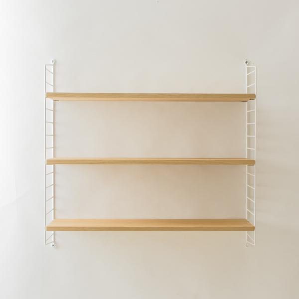 string system BASIC 78×30 (オーク/ホワイトフレーム)