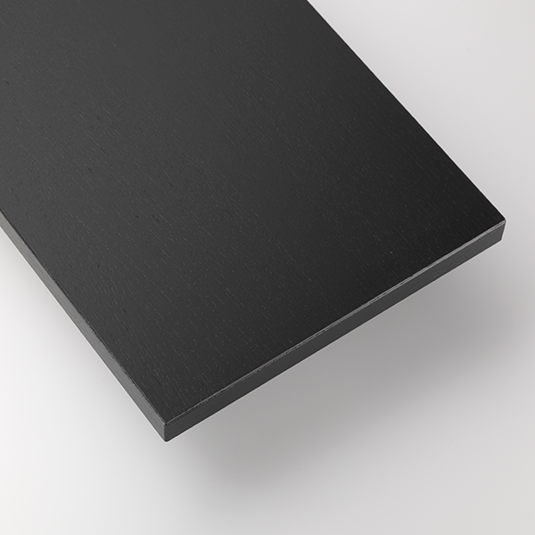 string system BASIC 78×30 (ブラックステインドアッシュ/ブラックフレーム)