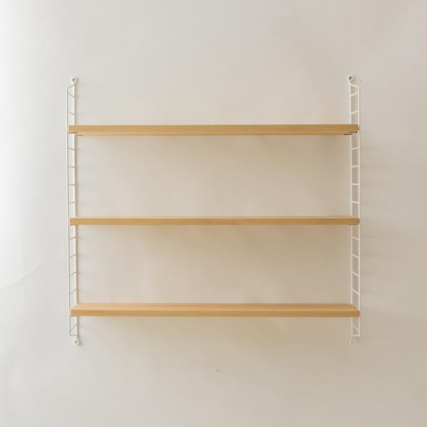 string system BASIC 78×20 (オーク/ホワイトフレーム)