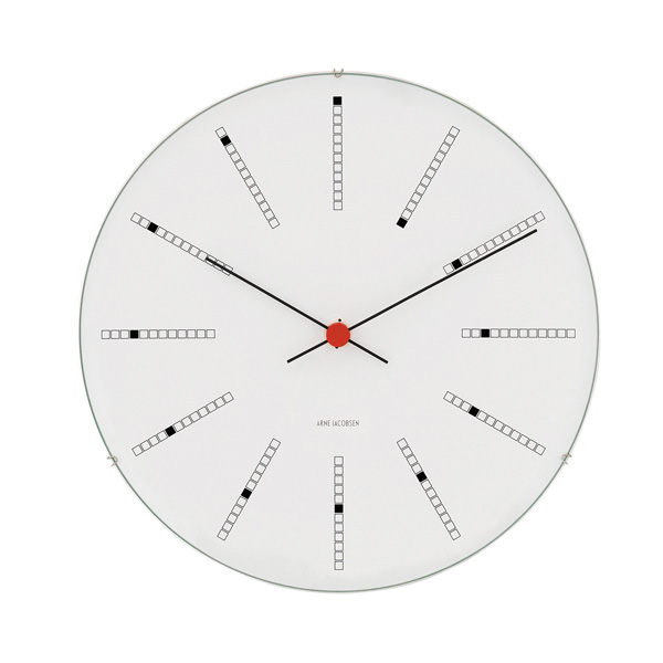 Arne Jacobsen Wall Clock / Bankers