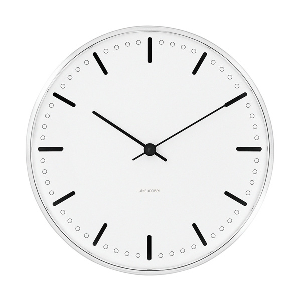 Arne Jacobsen Wall Clock / CityHall